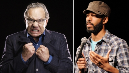 Lewis Black and Wyatt Cenac