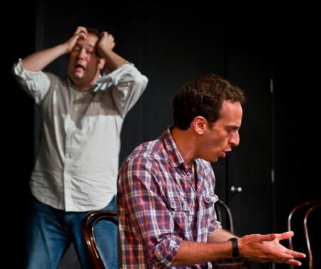 John Lutz and Peter Grosz