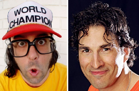 Judah Friedlander and Gary Gulman