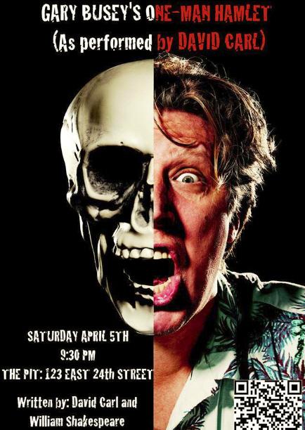 Gary Busey's One-Man Hamlet