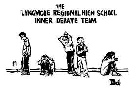 Drew Dernavich - Inner Debate