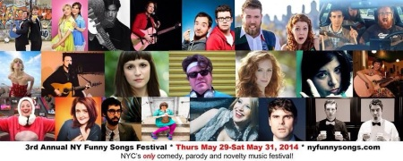 NYC Funny Songs Festival