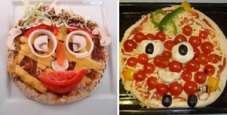 Pizza Faces