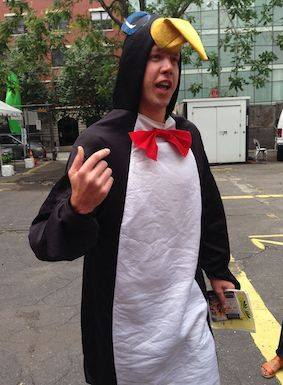 Xavier Toby as Penguin
