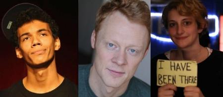 Jonathan Braylock, Tim Martin, and Jo Firestone