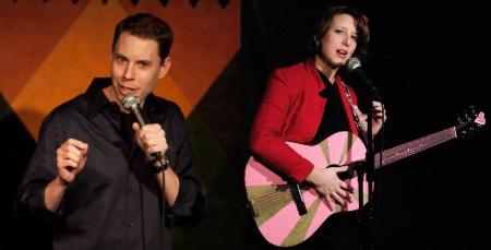 Ryan Hamilton and Jessica Delfino