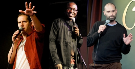 Seth Herzog, Hannibal Buress, and Ted Alexandro