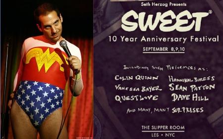 Seth Herzog's Sweet 10th Anniversary