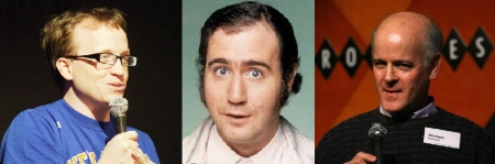 Chris Gethard, Andy Kaufman, and Michael Kaufman