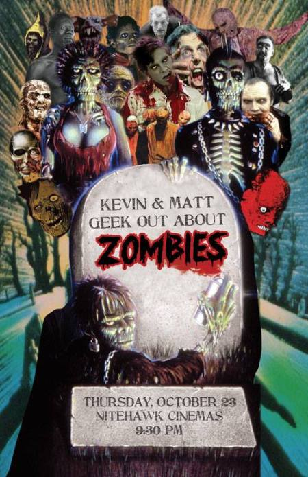 Kevin and Matt Geek Out About Zombies