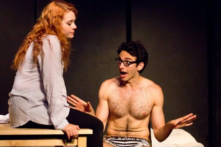 Kristin Parker and Gianmarco Soresi in <50%