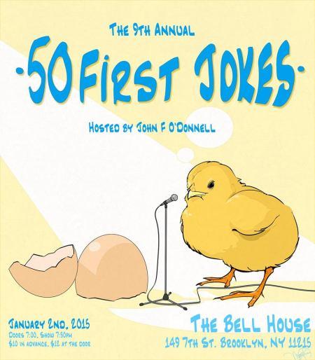 50 First Jokes 2015