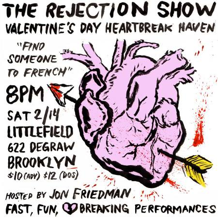 The Rejection Show Valentine's Day Edition 2015