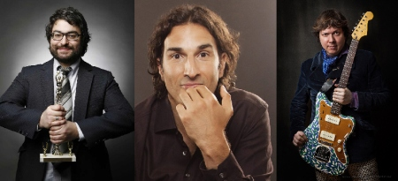 Sean Patton, Gary Gulman, and Dave Hill