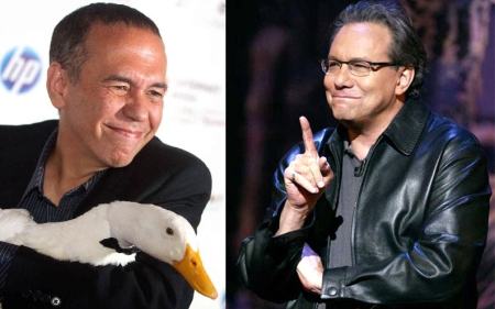 Gilbert Gottfried and Lewis Black