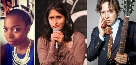 Sasheer Zamata, Aparna Nancherla, and Dave Hill