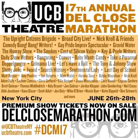 The 17th Annual Del Close Improv Marathon