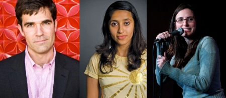 Rob Delaney, Aparna Nancherla, and Jessi Klein