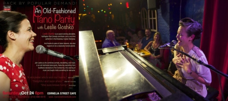 An Old-Fashioned Piano Party Starring Leslie Goshko