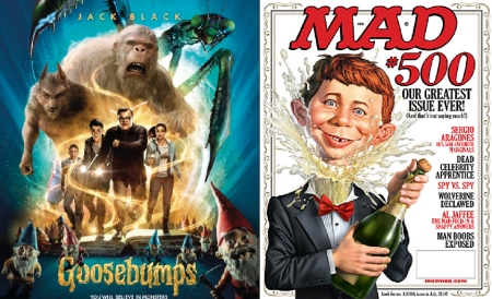 Goosebumps and Mad Magazine