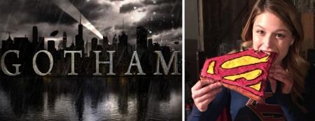 Gotham and Supergirl