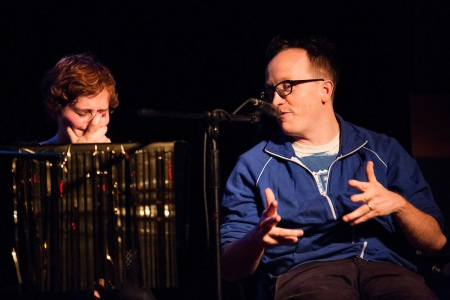 Jo Firestone and Chris Gethard