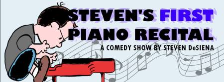Steven's First Piano Recital