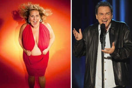 Bridget Everett and Norm Macdonald