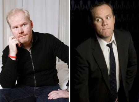 Jim Gaffigan and Tom Papa
