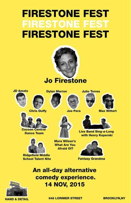 Jo Firestone's Firestone Fest