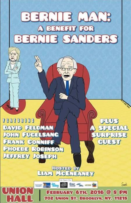 Bernie Man: A Benefit for Bernie Sanders