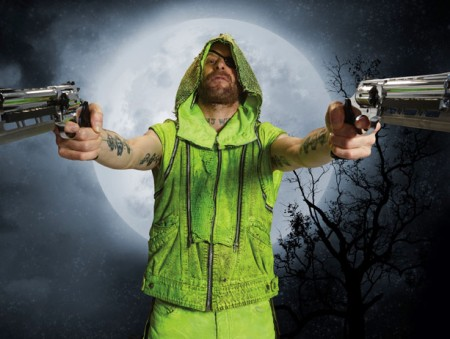 "Jon Glaser as ""Neon Joe, Werewolf Hunter"""
