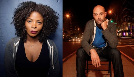 Janelle James and Ted Alexandro