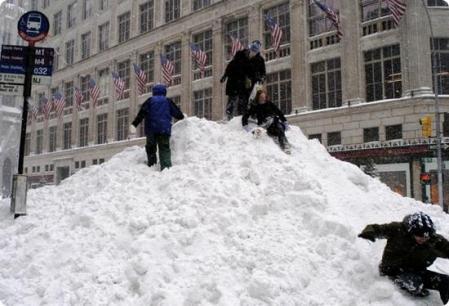NYC Blizzard 1-23-16
