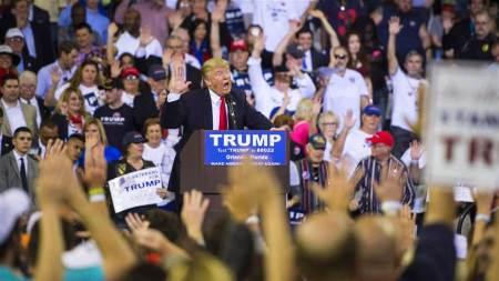A Donald Trump Rally