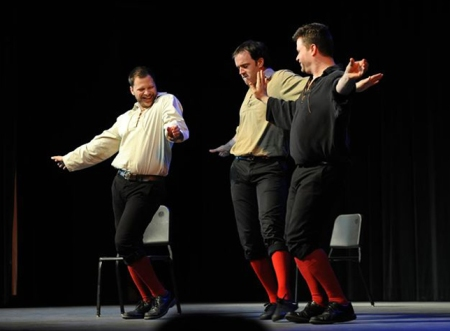 Blaine Swen and The Improvised Shakespeare Company