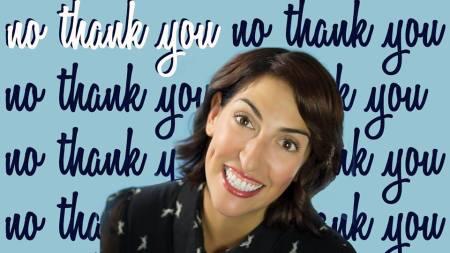 Mindy Raf: No Thank You