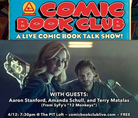 Comic Book Club: 12 Monkeys
