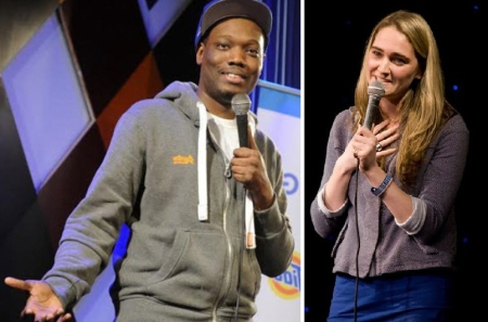 Michael Che and Jena Friedman
