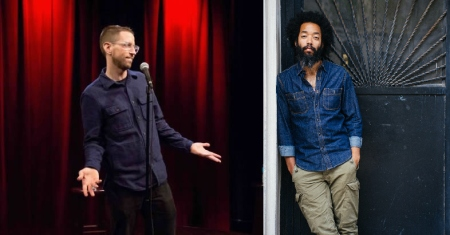 Neal Brennan and Wyatt Cenac