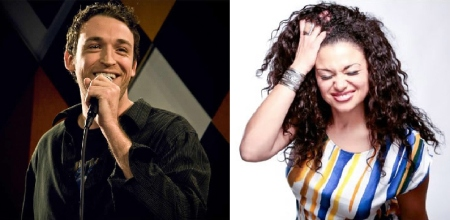 Dan Soder and Michelle Buteau