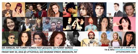 NY Funny Songs Fest 2016
