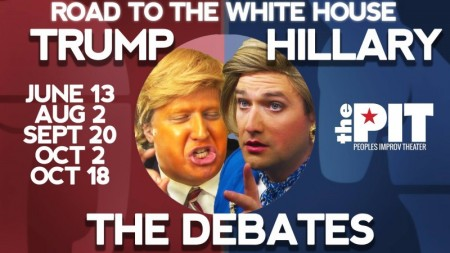 Road to the White House - Trump vs Hillary