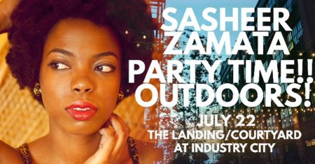 Sasheer Zamata Party Time