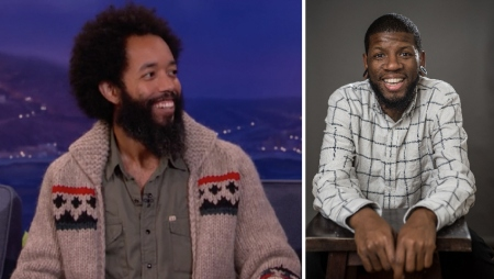 Wyatt Cenac and Quicny Jones