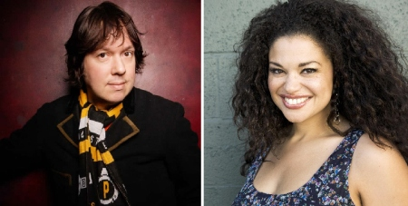 Dave Hill and Michelle Buteau
