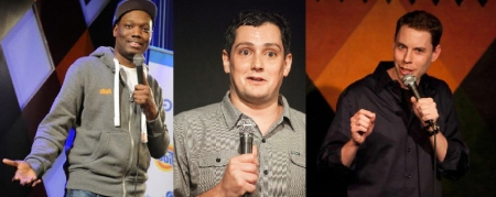Michael Che, Joe Marchi, and Ryan Hamilton
