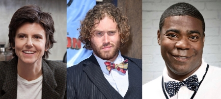 Tig Notaro, TJ Miller,  and Tracy Morgan