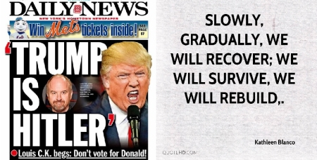 Trump is Hitler; We Will Survive.