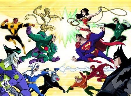 Superheroes vs. Supervillains